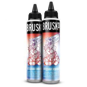 Е-жидкость Brusko,Ягодная жвачка 60 мл.