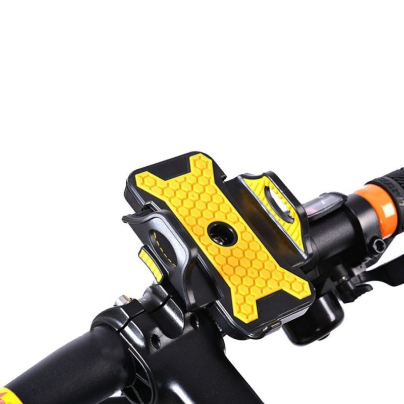 Велосипедный Держатель Для Телефона Letdooo GEP-2 Bicycle Phone Holder, Цвет Желтый