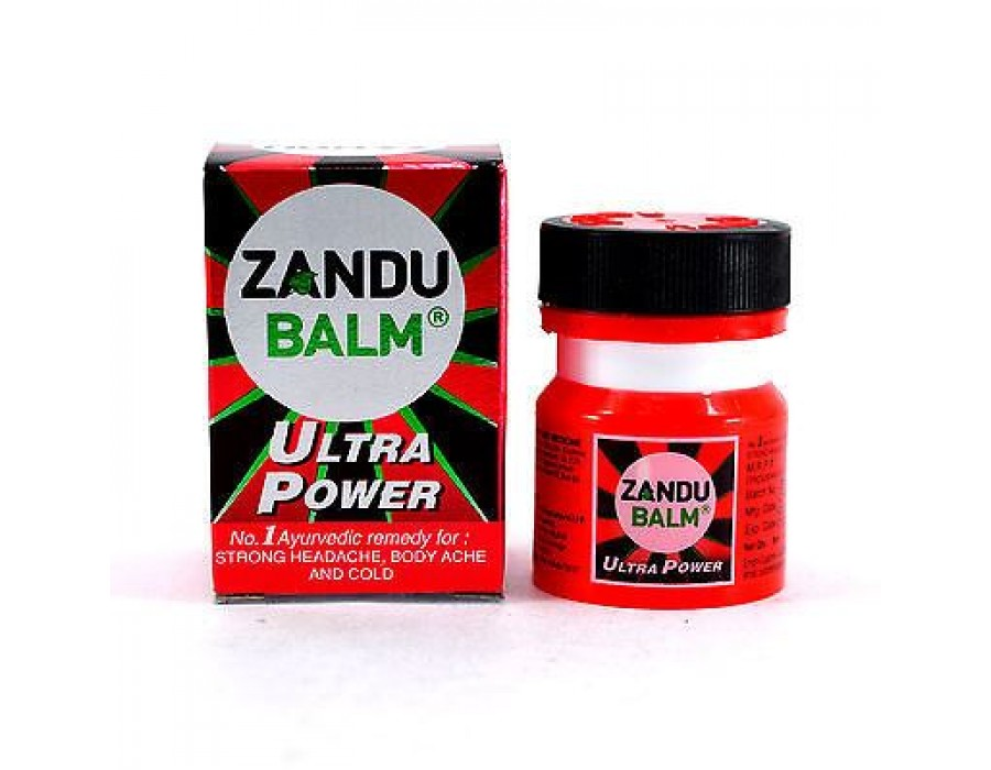 Бальзам Zandu ultra power, Занду, 8 мл.