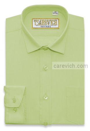 Рубашка для первоклассника 29(116-122) арт. Lime длинный рукав