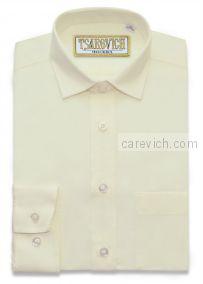 Рубашка для первоклассника 29(116-122) арт. Whipser slim длинный рукав, приталенная