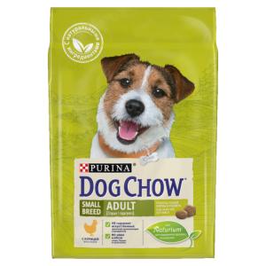 Корм сухой Purina Dog Chow Small Breed Adult для взрослых собак малых и миниатюрных пород с курицей 2.5кг