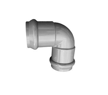 Отвод напорный НПВХ 315 90˚ двухраструбный