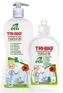 Tri-Bio Натуральная эко-жидкость для мытья посуды и рук 840 мл