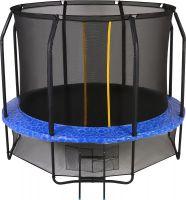 Батут с внутренней защитной сеткой - Swollen Prime 8FT (2.44м), цвет синий