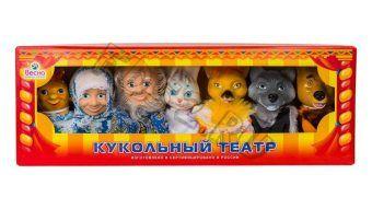 Кукольный театр Весна по сказкам набор 3