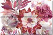 Composicion Savage Flowers Berenjena 01