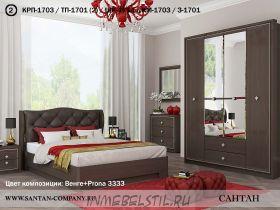 Спальня Эйми 1 с патиной