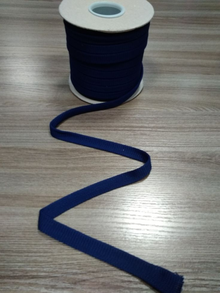 СИНЯЯ Шнур плоский шир. 12 мм