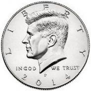 50 центов Кеннеди 2014 США UNC