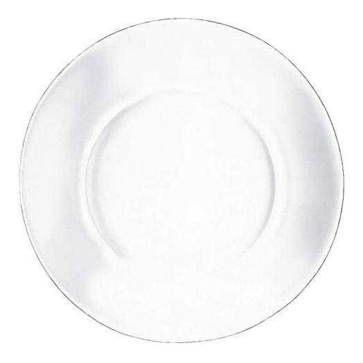 Тарелка стеклянная, 26 см