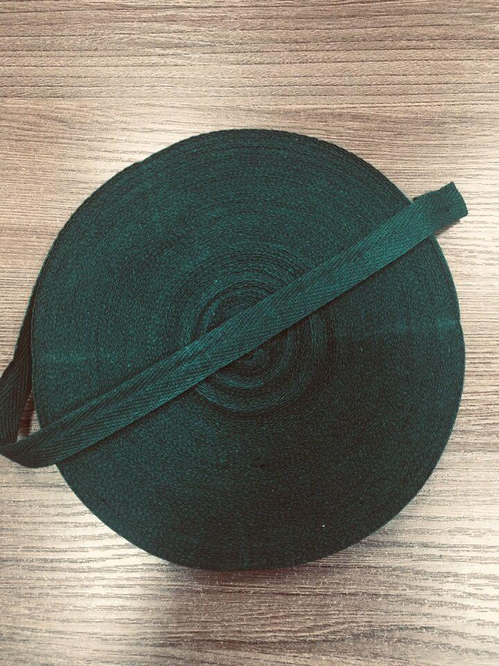 ТЕМНО-ЗЕЛЕНАЯ Киперная лента 15 мм