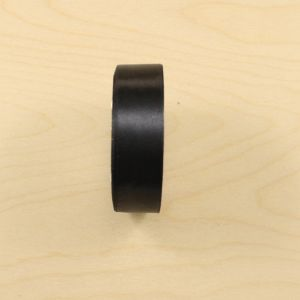 Атласная лента, ширина 23-26 мм, 25 ярдов, цвет черный, АЛ9179-39