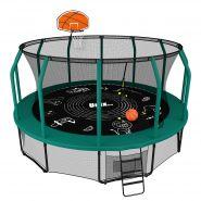 Батут Unix line Supreme Game 14 ft + Basketball 611