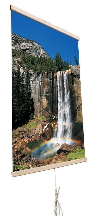 Картина обогреватель на стену Водопад 400Вт