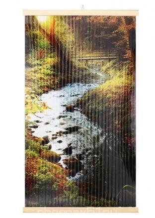 Картина обогреватель на стену Мостик 400Вт