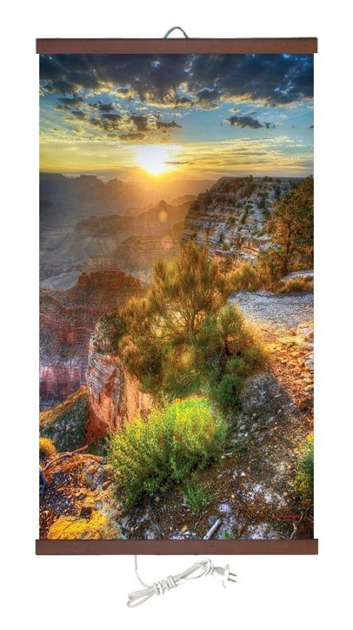 Картина обогреватель на стену Горы 400Вт