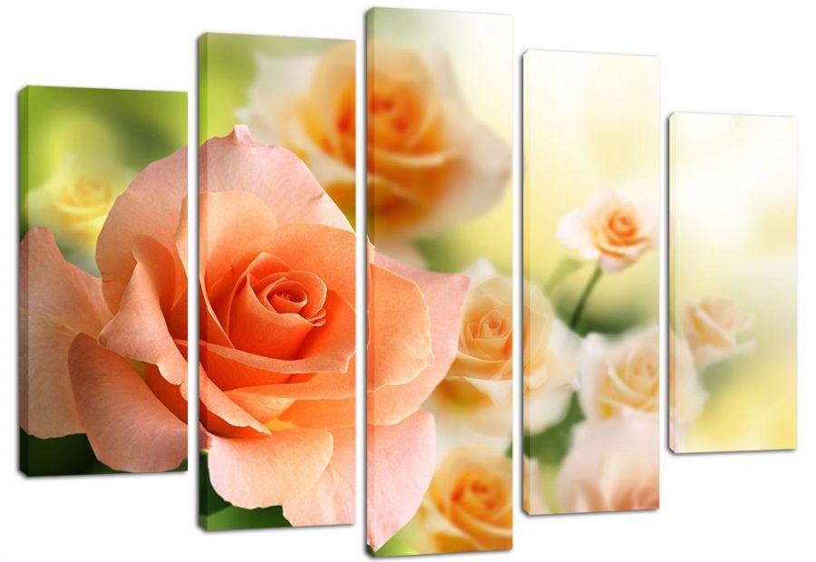 Модульная картина Розы