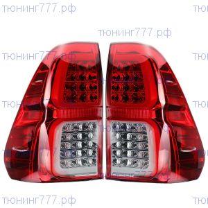 Фонари задние, LED, красный стиль