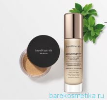 Пудра bareMinerals  ORIGINAL + сыворотка SKINLONGEVITY Vital Power Serum  30 ML