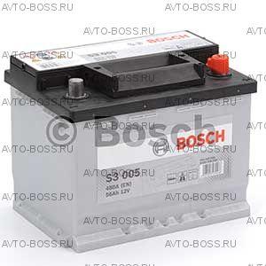 Автомобильный аккумулятор 0092S30050 Bosch S3005 (S3 005) 56 a/h обр 556400048 L2 56 Ач