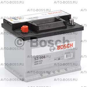 Автомобильный аккумулятор 0092S30060 Bosch S3006 (S3 006) 56 a/h прям 556401048 L2 56 Ач