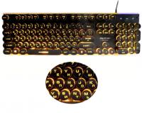 Cтимпанк клавиатура Darshion с подсветкой