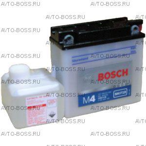 Аккумулятор мотоциклетный (мото) BOSCH MOBA 6a/h (M4 F19) 0092M4F190 12V Y6 (YB5L-B) (12N5.5-3B) 6 Ач