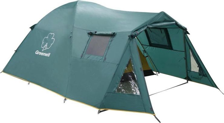 Палатка  NovaTour  Велес 4 v.2 Зеленая