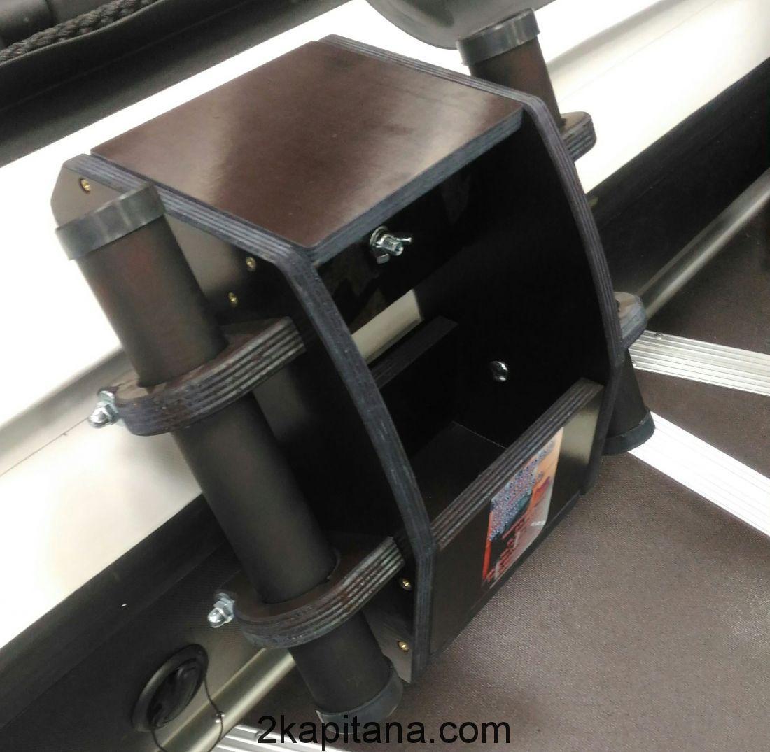 Спиннингодержатель со столикоа под эхолот
