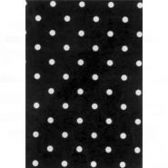 Бумага для декупажа DECOPATCH 30х40 / Горошек черный (арт. C-FDA 4000)