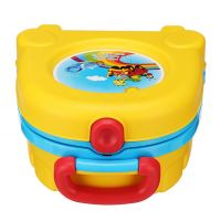 Портативный складной детский горшок-чемоданчик The Handy Potty (6)