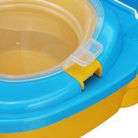 Портативный складной детский горшок-чемоданчик The Handy Potty (7)