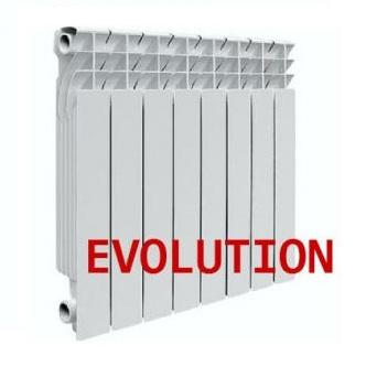 Радиатор алюминиевый EvA 200 6 секций