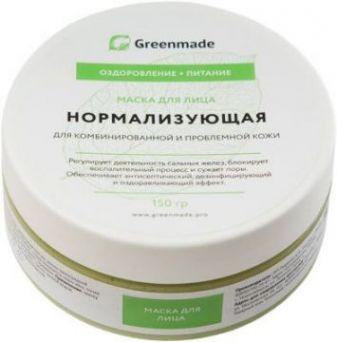 ГринМейд - Маска для лица Нормализующая для комбинированной и проблемной кожи