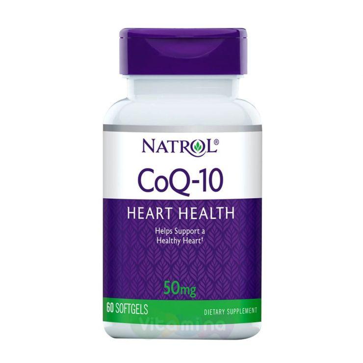 Natrol Коэнзим Q10 50 мг, 60 капс.