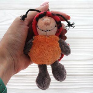 Игрушка для куклы Nici, божья коровка 11 см