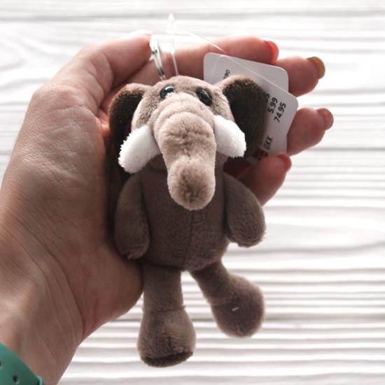 Игрушка для куклы, слоненок 11 см