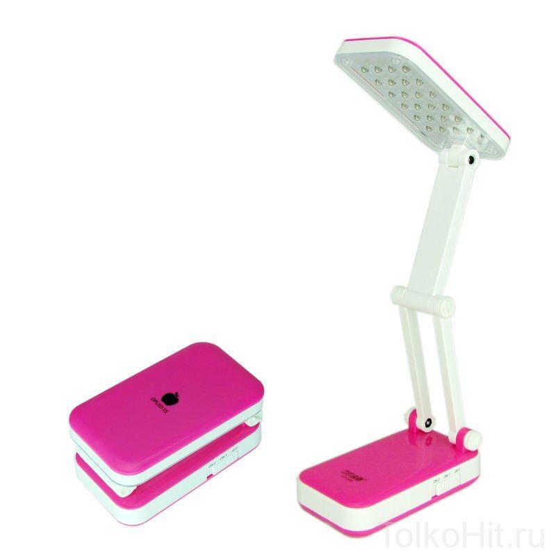 Лампа настольная TOP WELL LED Розовый