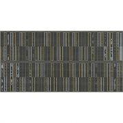 Aura Декор Grafite Geometria 31,5x63