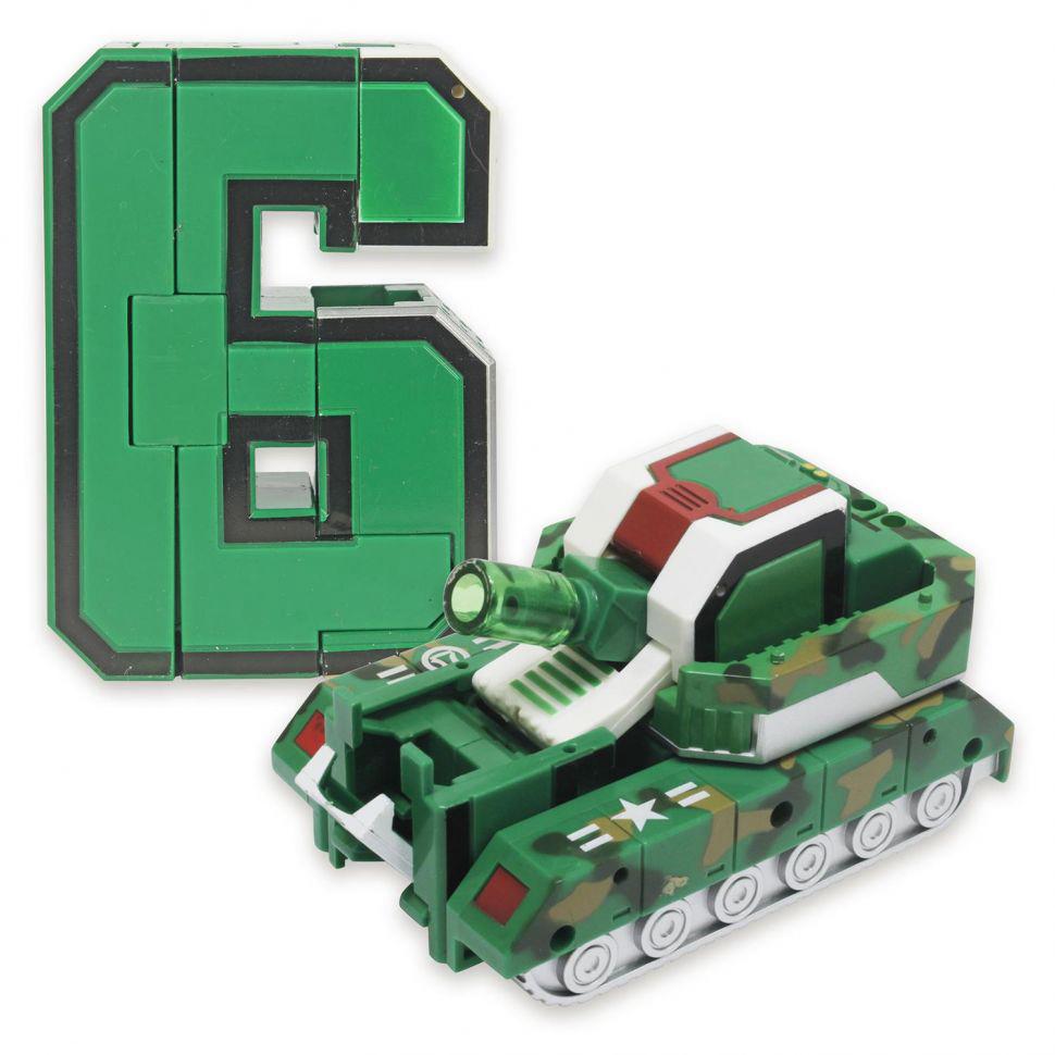 6 Трансбот Боевой Расчет танк Громобот или цифра шесть