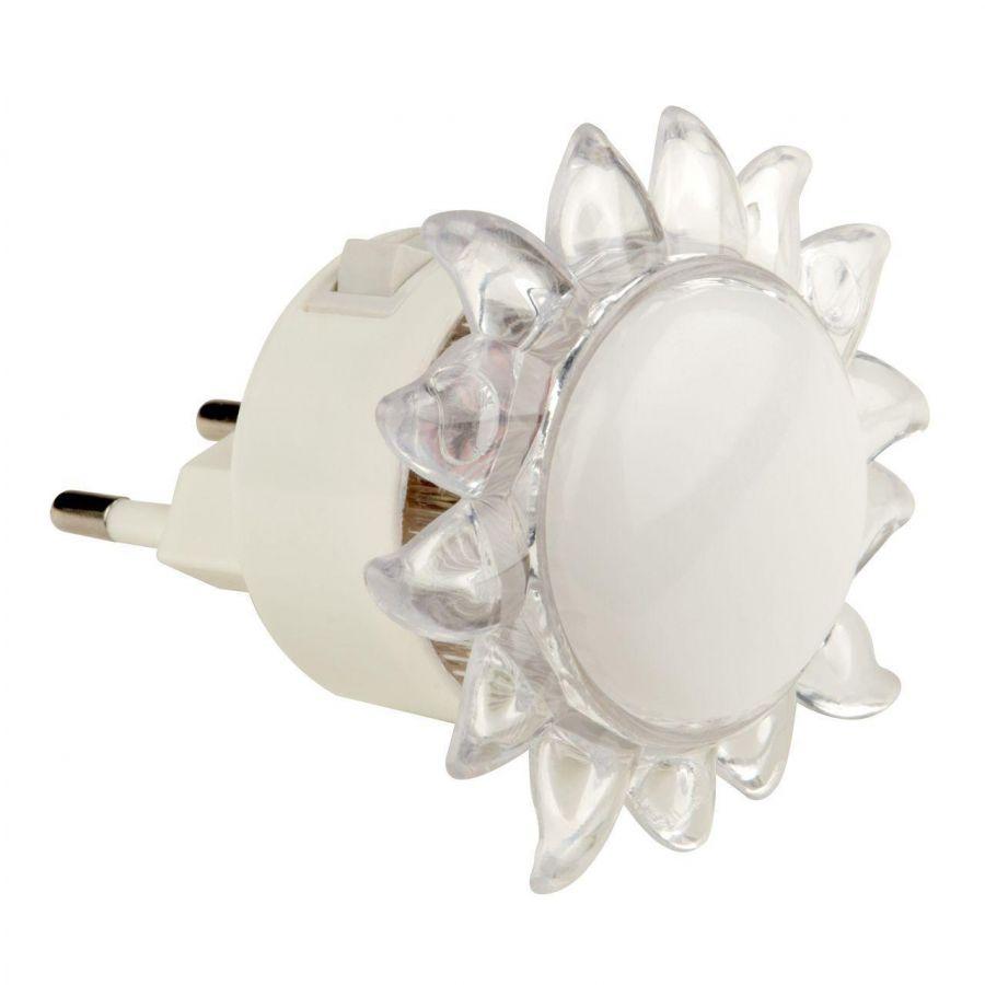 Настенный светодиодный светильник (10322) Uniel Детская серия DTL-308-Подсолнух/RGB/4LED/0,5W