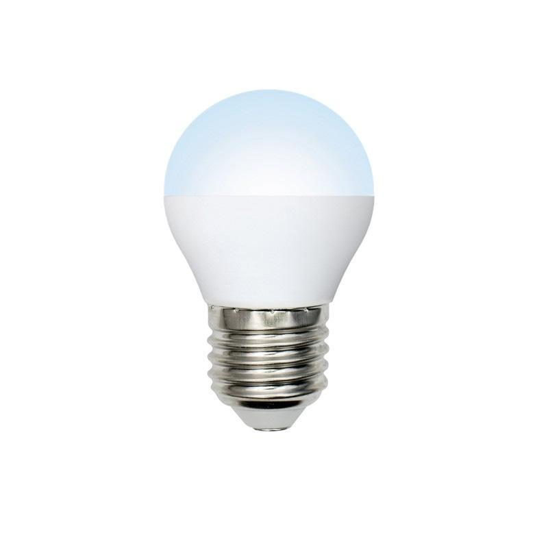 Лампа светодиодная (UL-00003828) E27 9W 4000K матовая LED-G45-9W/NW/E27/FR/NR