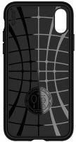 Купить оригинальный чехол Spigen Core Armor для iPhone XR черный тонкий чехол для Айфон XR в Москве в интернет магазине аксессуаров для смартфонов elite-case.ru