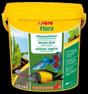 SERA Флора Хлопья для растительноядных рыб (10 л)