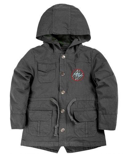 Куртка-парка с капюшоном для мальчиков 1-4 лет Bonito темно-серый