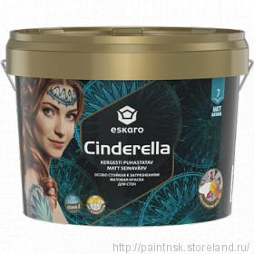 Грязеотталкивающая краска Cinderella для стен и потолков