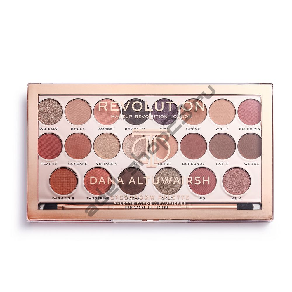 Revolution - x Dana Eyeshadow Palette