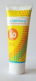 Клирвин. Крем для лица солнцезащитный SPF 50, 60г.