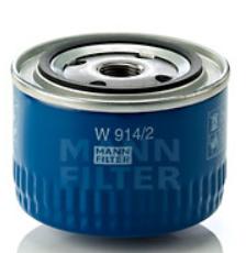 Фильтр масляный W914/2 Mann-filter